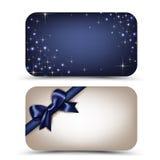 Κάρτες δώρων Στοκ Φωτογραφία