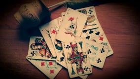 κάρτες Στοκ φωτογραφία με δικαίωμα ελεύθερης χρήσης