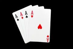 Κάρτες Playng Στοκ φωτογραφίες με δικαίωμα ελεύθερης χρήσης