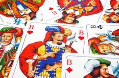 κάρτες skat Στοκ φωτογραφία με δικαίωμα ελεύθερης χρήσης
