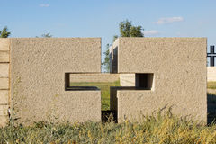 Κάρδαμο στο γερμανικό νεκροταφείο Rossoshk Βόλγκογκραντ, Ρωσία Στοκ Φωτογραφία