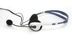 κάσκα επικοινωνιών που α&p Στοκ φωτογραφία με δικαίωμα ελεύθερης χρήσης
