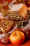 κάστανο Πάσχα κέικ Στοκ εικόνες με δικαίωμα ελεύθερης χρήσης