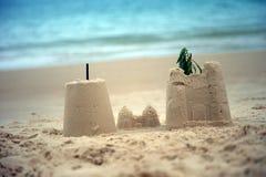 Κάστρα άμμου Στοκ Εικόνα