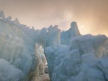 Κάστρα πάγου Στοκ Φωτογραφία