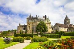 Κάστρα της Γαλλίας - jumilhac-LE-μεγάλος στοκ εικόνες