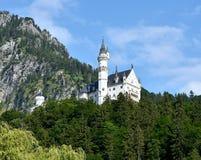 Κάστρα της Γερμανίας - Neuschwanstein κοντά σε Fussen Στοκ φωτογραφία με δικαίωμα ελεύθερης χρήσης
