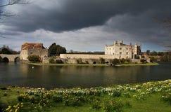 κάστρο Αγγλία Λιντς Στοκ εικόνα με δικαίωμα ελεύθερης χρήσης