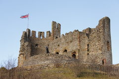 κάστρο αγγλικά στοκ εικόνα