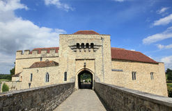 κάστρο Αγγλία Λιντς Στοκ φωτογραφία με δικαίωμα ελεύθερης χρήσης