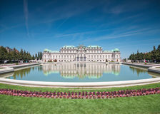 κάστρο Βιέννη πανοραμικών πυργίσκων Στοκ φωτογραφία με δικαίωμα ελεύθερης χρήσης
