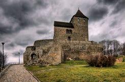 κάστρο β bedzin dzin στοκ φωτογραφία