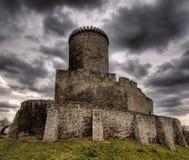 κάστρο β bedzin dzin στοκ φωτογραφίες με δικαίωμα ελεύθερης χρήσης