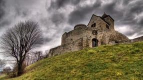 κάστρο β bedzin dzin στοκ εικόνα με δικαίωμα ελεύθερης χρήσης