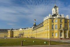 κάστρο Γερμανία Καρλσρού& Στοκ Εικόνα