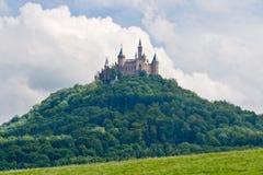 κάστρο Γερμανία hohenzollern Στοκ Εικόνες