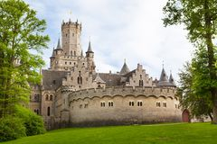 κάστρο Γερμανία marienburg Στοκ εικόνες με δικαίωμα ελεύθερης χρήσης
