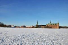 κάστρο Δανία Frederiksborg Στοκ εικόνα με δικαίωμα ελεύθερης χρήσης