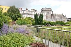 κάστρο Δουβλίνο Ιρλανδί&al Στοκ Φωτογραφία
