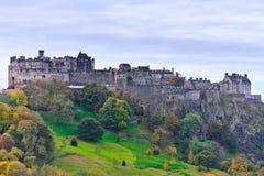 κάστρο Εδιμβούργο Σκωτία Στοκ Φωτογραφία