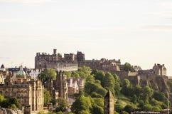 κάστρο Εδιμβούργο Σκωτί&alp στοκ φωτογραφίες με δικαίωμα ελεύθερης χρήσης