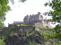 κάστρο Εδιμβούργο Στοκ φωτογραφία με δικαίωμα ελεύθερης χρήσης