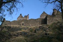 κάστρο Εδιμβούργο στοκ εικόνες