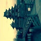 κάστρο Ιαπωνία Ματσουμότο Στοκ Εικόνες