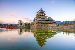κάστρο Ιαπωνία Ματσουμότ&omicro Στοκ Εικόνα