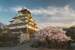 κάστρο Ιαπωνία Οζάκα Στοκ Εικόνες