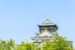 κάστρο Ιαπωνία Οζάκα Στοκ Φωτογραφία