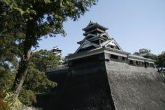 κάστρο ιαπωνικά Στοκ εικόνα με δικαίωμα ελεύθερης χρήσης