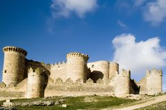 κάστρο ισπανικά Στοκ εικόνες με δικαίωμα ελεύθερης χρήσης