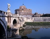 κάστρο Ιταλία Ρώμη του Angelo sant Στοκ Φωτογραφίες
