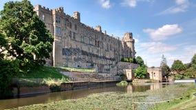 Κάστρο κάστρων Warwick Στοκ εικόνα με δικαίωμα ελεύθερης χρήσης