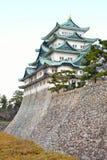 Κάστρο και τάφρος του Νάγκουα στην Ιαπωνία Στοκ εικόνα με δικαίωμα ελεύθερης χρήσης