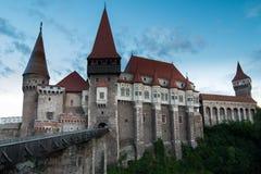 Κάστρο και Dracula Hunedoara στοκ φωτογραφία