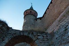 κάστρο καμία διαφάνεια ηλιοβασιλέματος Στοκ φωτογραφία με δικαίωμα ελεύθερης χρήσης