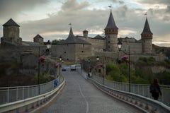 κάστρο καμία διαφάνεια ηλιοβασιλέματος Στοκ φωτογραφίες με δικαίωμα ελεύθερης χρήσης