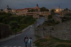 κάστρο καμία διαφάνεια ηλιοβασιλέματος Στοκ εικόνες με δικαίωμα ελεύθερης χρήσης