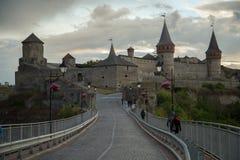 κάστρο καμία διαφάνεια ηλιοβασιλέματος Στοκ Φωτογραφίες