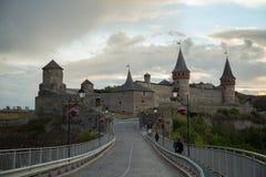 κάστρο καμία διαφάνεια ηλιοβασιλέματος Στοκ Φωτογραφία