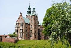 κάστρο Κοπεγχάγη rosenborg Στοκ Φωτογραφίες