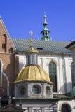κάστρο Κρακοβία Πολωνία wawe στοκ φωτογραφία