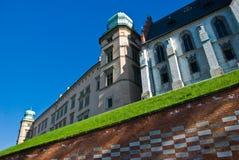 κάστρο Κρακοβία Πολωνία wawe Στοκ φωτογραφίες με δικαίωμα ελεύθερης χρήσης