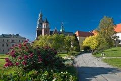 κάστρο Κρακοβία Πολωνία wawel Στοκ φωτογραφία με δικαίωμα ελεύθερης χρήσης