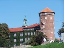 κάστρο Κρακοβία Πολωνία wawe στοκ εικόνα με δικαίωμα ελεύθερης χρήσης