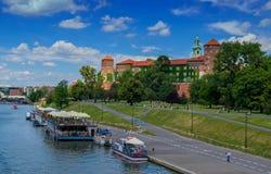 κάστρο Κρακοβία wawel Στοκ Φωτογραφία