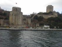 Κάστρο Κωνσταντινούπολη Τουρκία Rumeli Στοκ Εικόνες