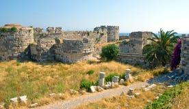 κάστρο μέσα στοκ φωτογραφία με δικαίωμα ελεύθερης χρήσης